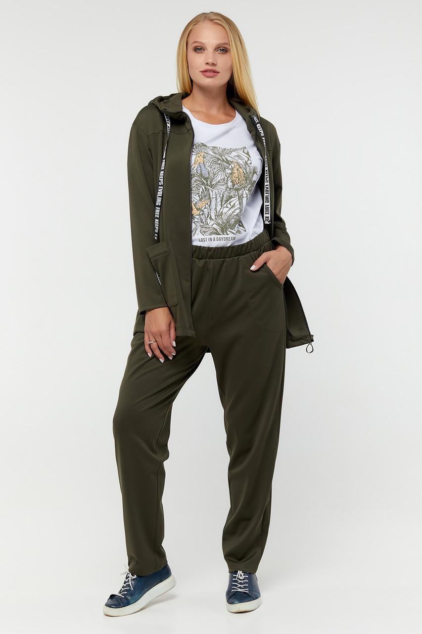 Жіночий спортивний трикотажний костюм Джульєтта великого розміру 50-62