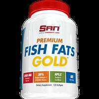 Рыбий жир SAN Premium Fish Fats Gold 60caps.