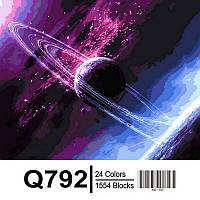 Картина по номерам Mariposa Сквозь вселенную 65Х50 см QS792
