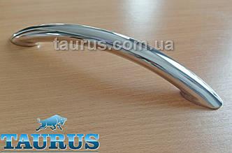 Ручка для ванны TAURUS Holder for Bath из полированной н/ж стали. Длинна 250 мм; Труба d20; Между центрами 215