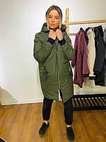 Удобная стильная практичная комфортная куртка - пальто -Размеры с м л