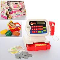 Кассовый аппарат 6623-6623E, калькул, сканер, корзина, продукты, зв, св, 2цв, бат, в кор, 34-21-17см