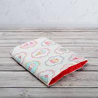 Подушка для кормления и укачивания новорожденных, на руку - кексики