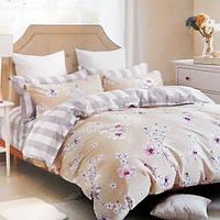 Комплект постельного белья евро Elway 5048 Spring Blossom