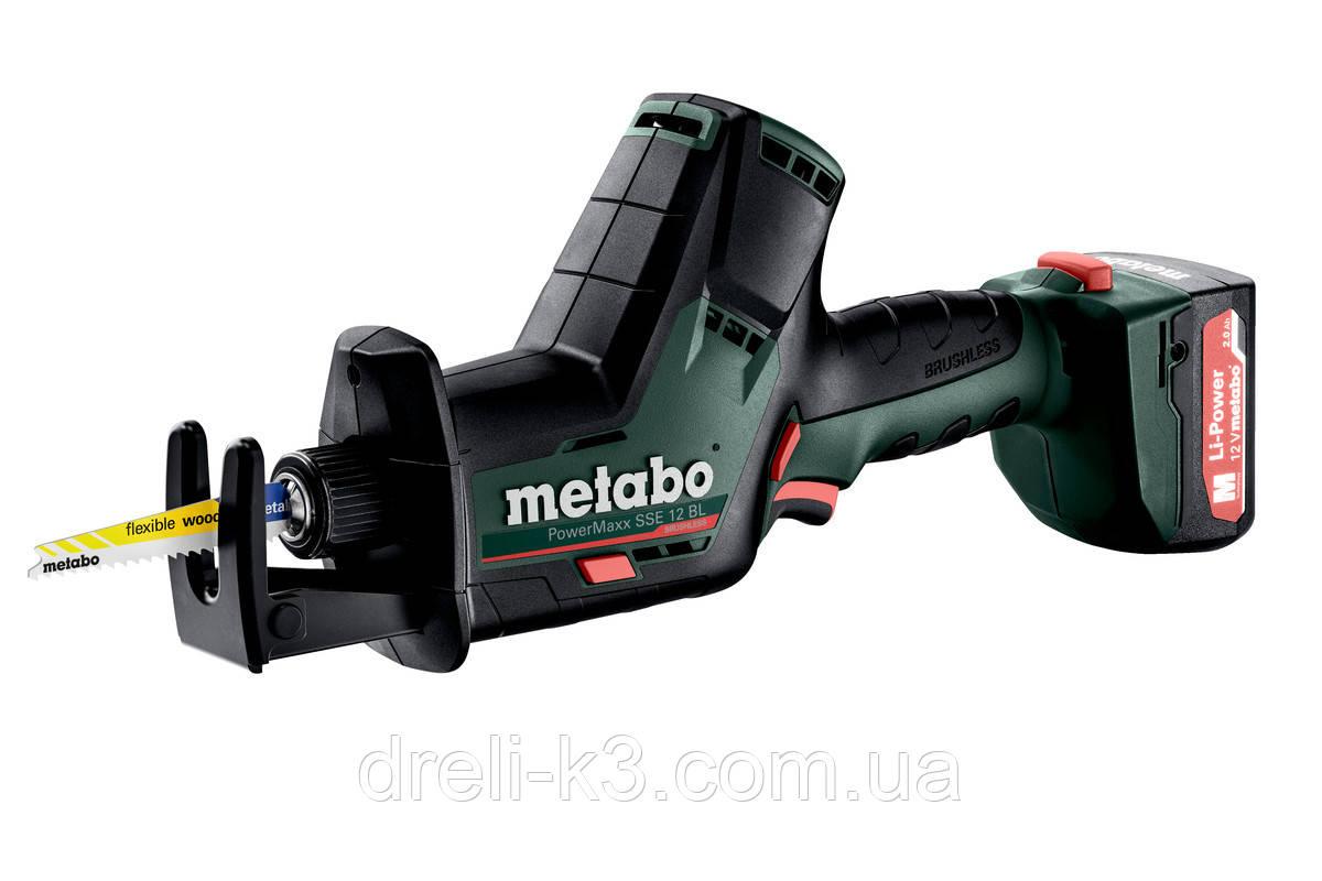 Аккумуляторная Сабельная Пила Metabo POWERMAXX SSE 12 BL (602322500)