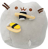 Мягкая игрушка кот с суши Pusheen cat + Подарок (n-658), фото 4