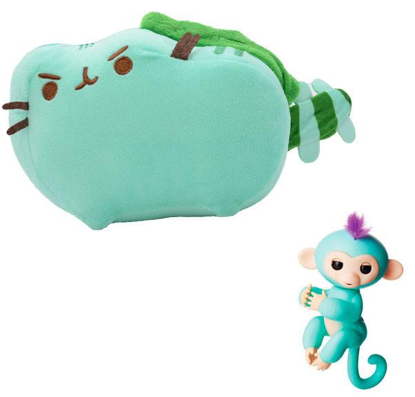 Мягкая игрушка кот дракон Pusheen cat + Подарок (n-659)