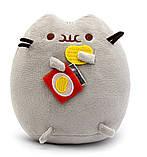 Комплект Мягкая игрушка кот с чипсами Pusheen cat и Игрушка интерактивная Happy Monkey (vol-661), фото 2