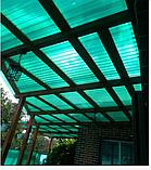 Профільний полікарбонат Suntuf (1,26х2м)  зелений 55% 0.8мм, фото 2