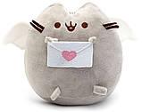 Комплект Мягкая игрушка кот с письмом Pusheen cat и Пистолет дополненной реальности Белый (vol-673), фото 4