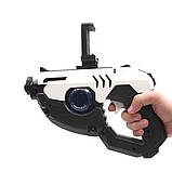 Комплект Мягкая игрушка кот дракон Pusheen cat и Пистолет дополненной реальности Белый (vol-676), фото 2