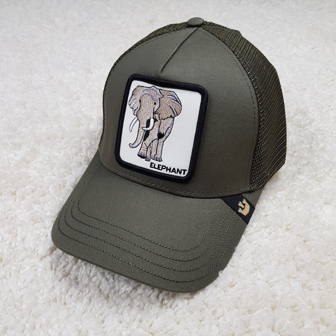 Кепка/бейсболка Goorin Brothers Rack хаки/Elephant