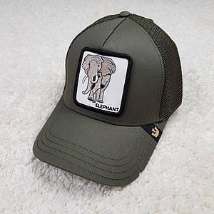 Кепка/бейсболка Goorin Brothers Rack хакі/Elephant