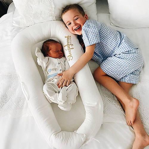 Прекрасное решение для спального места новорожденного - коконы Sleepyhead Deluxe