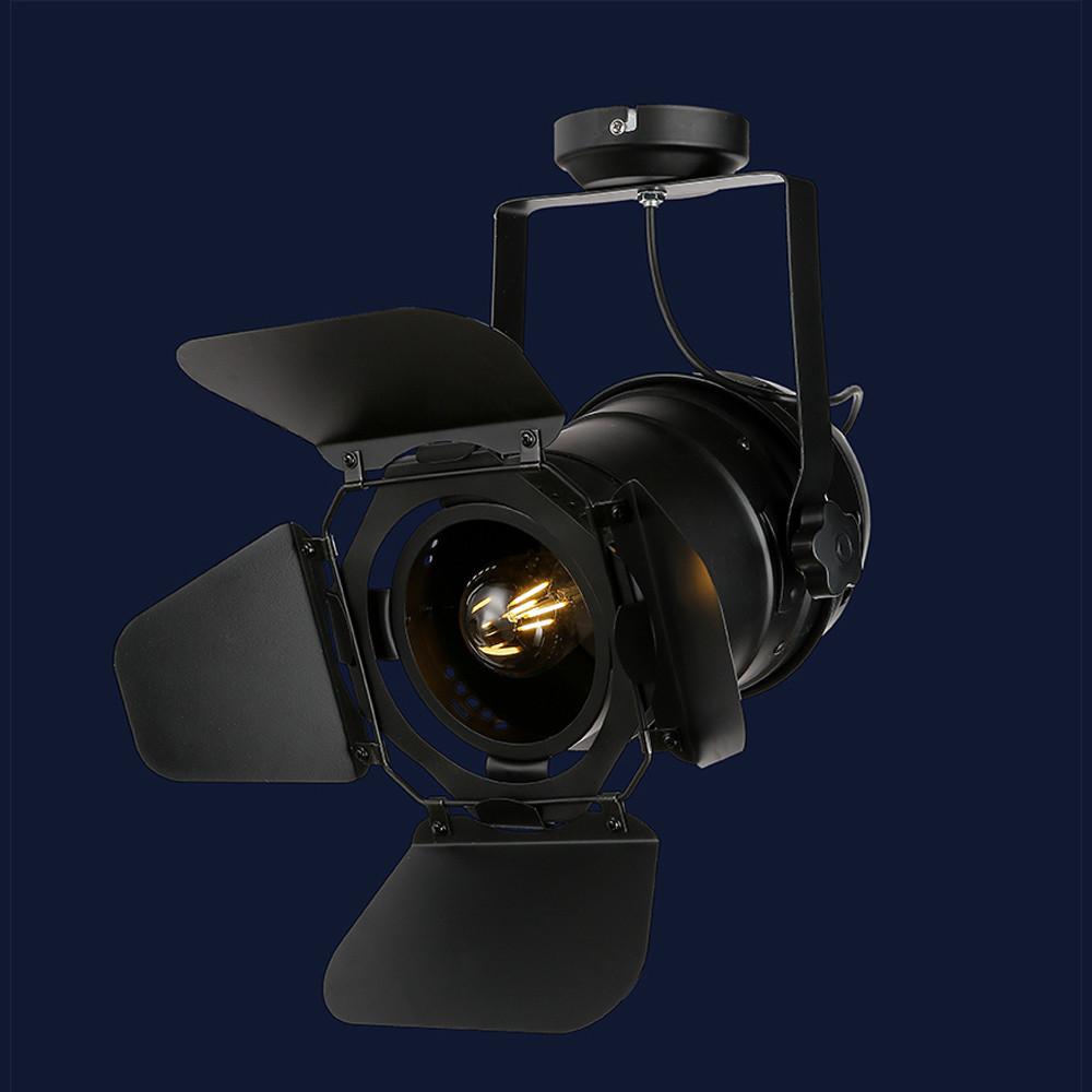 Современный трековый потолочный светильник цвет черный Levistella&75231 BK