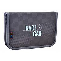 Пенал твердый Smart одинарный Race car Серый (531702), фото 3