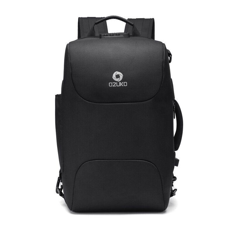 Рюкзак-сумка трансформер Ozuko 9225 Чорний