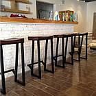 Барные металлические стулья для кафе, фото 3