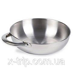 Миска с ручкой Tatonka Bowl With Grip S, Silver (TAT 4036.000)
