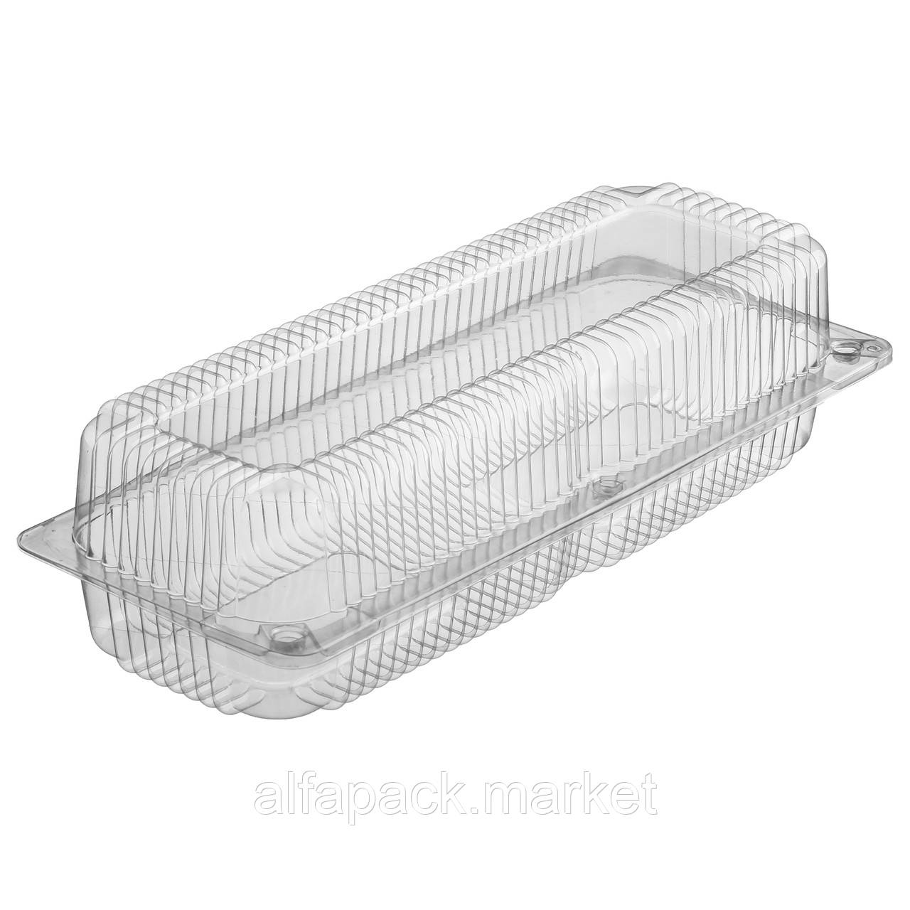 ПС-133 Пластиковий контейнер 323*125*80 (300 шт в ящику) 010100032