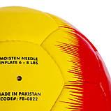 М'яч футбольний №5 BARCELONA FB-0822 (№5, 5 сл., зшитий вручну), фото 3