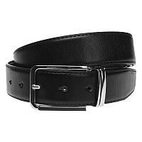 Двусторонний кожаный ремень Borsa Leather v1n067-2A