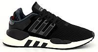"""Мужские кроссовки Adidas Equipment *EQT* """"Black Grey"""" - """"Черные Серые"""" (Реплика ААА+)"""