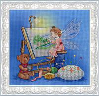 Набор для вышивки крестом М.П.Студия РК-509 «Фея вышивки»