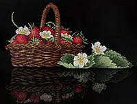Набор для вышивки крестом М.П.Студия НВ-528 «Аромат душистой клубники»