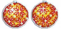 Набір для вишивки хрестом М.П.Студія Р-168 «Куля Бурштинова пишність»