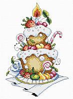 Набір для вишивки хрестом М.П.Студія М-048 «Фруктовий десерт»
