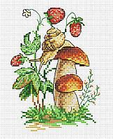 Набір для вишивки хрестом М.П.Студія М-100 «Лісовий равлик»