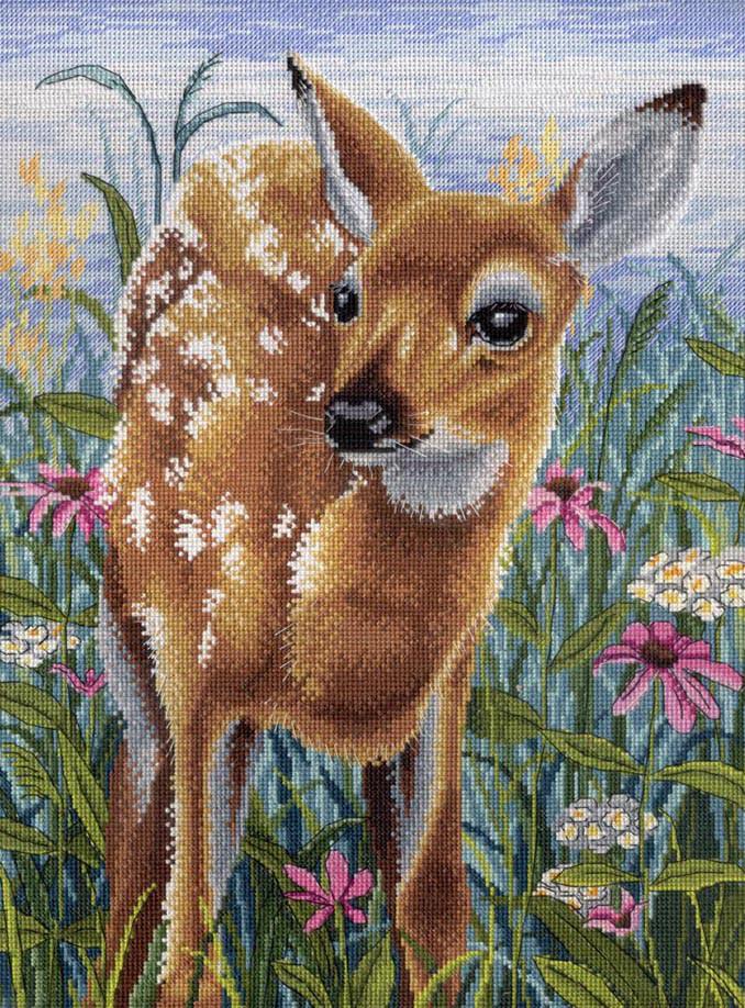 Набір для вишивки хрестом М.П.Студія НВ-530 «У цвітінні чудових трав»