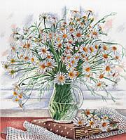 Набор для вышивки крестом М.П.Студия НВ-533 «Нежность полевых цветов»