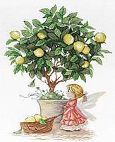 Набір для вишивки хрестом М.П.Студія НВ-547 «Лимонна фея»