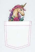 Набор для вышивки крестом М.П.Студия В-250 «Единорог»