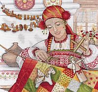 Набор для вышивки крестом М.П.Студия НВ-549 «Осенняя красавица»