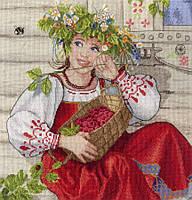 Набір для вишивки хрестом М.П.Студія НВ-600 «Літня красуня»