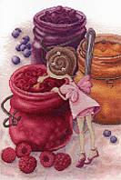 Набор для вышивки крестом М.П.Студия НВ-610 «Фея ягодного варенья»