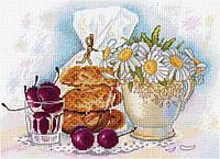 Набор для вышивки крестом М.П.Студия НВ-661 «Воскресное утро»