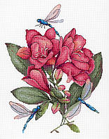 Набор для вышивки крестом М.П.Студия НВ-670 «Упоительная фрезия»