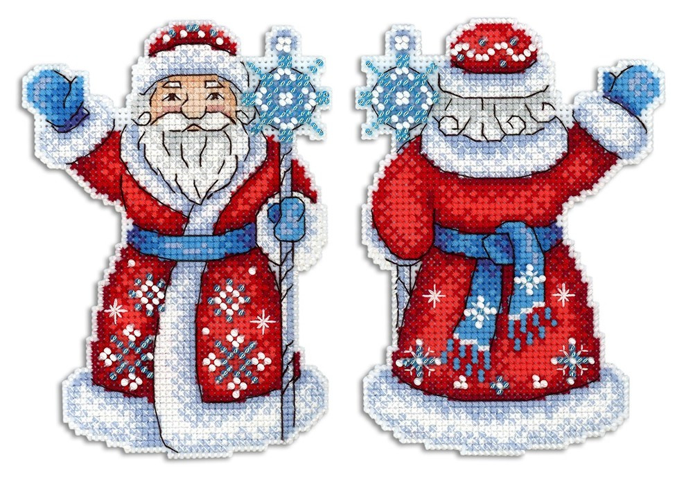 Набір для вишивки хрестом М.П.Студія Р-312 «Дідусь Мороз»