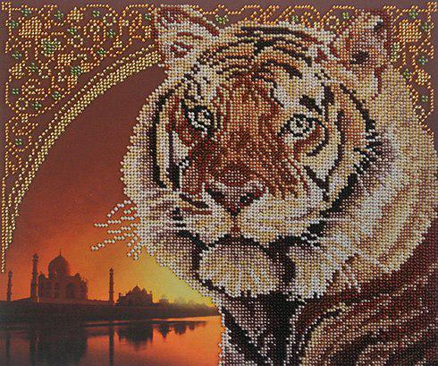 Набір для вишивки бісером М.П.Студія БГ-221 «Тигр»