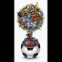 Набор для вышивки крестом М.П.Cтудия НВ-716 «Мечта мальчишки»