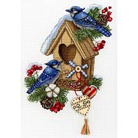 Набор для вышивки крестом М.П.Cтудия НВ-715 «Новоселье»