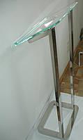Трибуна НСК мобильная стекло+нержавейка, фото 1