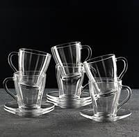 Чайний набір 250 мл «Грація», 12 предметів