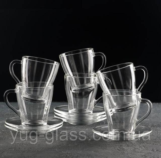 Чайный стеклянный набор