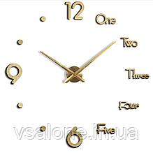 Декоративні настінні годинники 3D (D=1м)