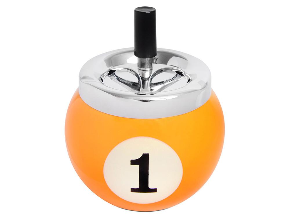 Пепельница бильярдный шар №1